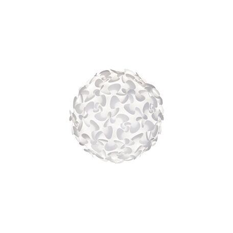Плафон Umage Lora Medium 2064, белый, пластик