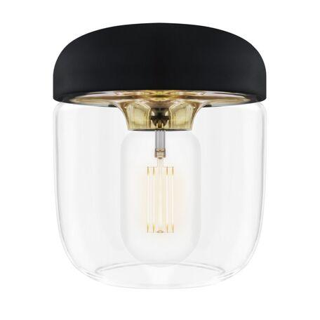 Плафон Umage Acorn 2082, матовое золото, черный, прозрачный, металл, пластик, стекло