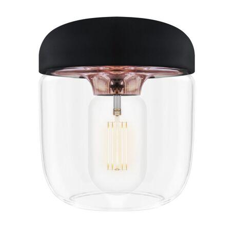 Плафон Umage Acorn 2083, медь, черный, прозрачный, металл, пластик, стекло