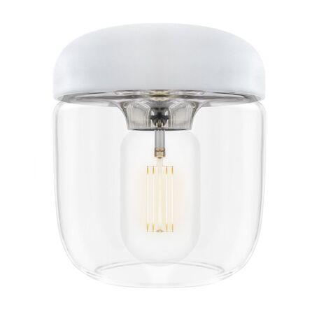 Плафон Umage Acorn 2104, белый, сталь, прозрачный, металл, пластик, стекло