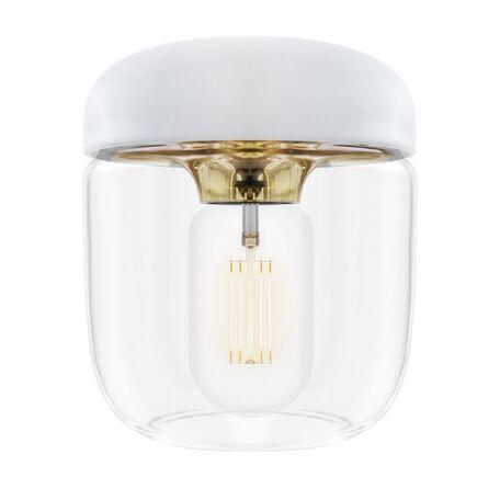 Плафон Umage Acorn 2105, белый, золото, прозрачный, металл, пластик, стекло