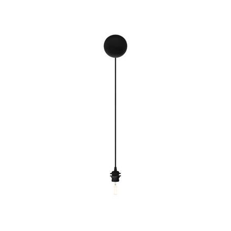 Подвесной светильник Umage Cannonball 4032, 1xE27x15W, черный, пластик, текстиль