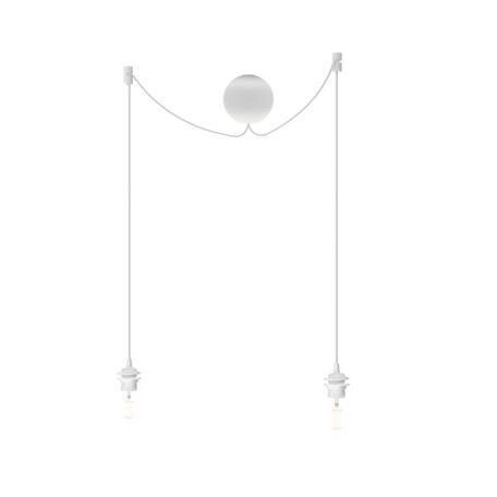 Подвесной светильник Umage Cannonball Cluster 4089, 2xE27x15W, белый, пластик, текстиль