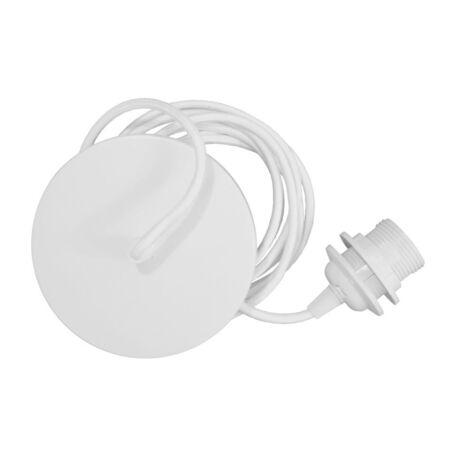 Подвесной светильник Umage Rosette 4144, 1xE27x15W, белый, металл, текстиль