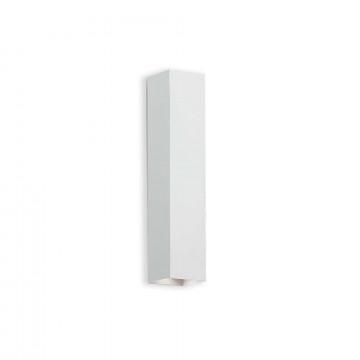 Настенный светильник Ideal Lux SKY AP2 BIANCO 126883, 2xGU10x28W, белый, металл