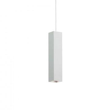 Подвесной светильник Ideal Lux SKY SP1 BIANCO 126906, 1xGU10x28W, белый, металл
