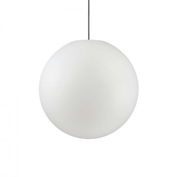 Подвесной светильник Ideal Lux SOLE SP1 BIG 136011, IP44, 1xE27x60W, белый, металл, пластик