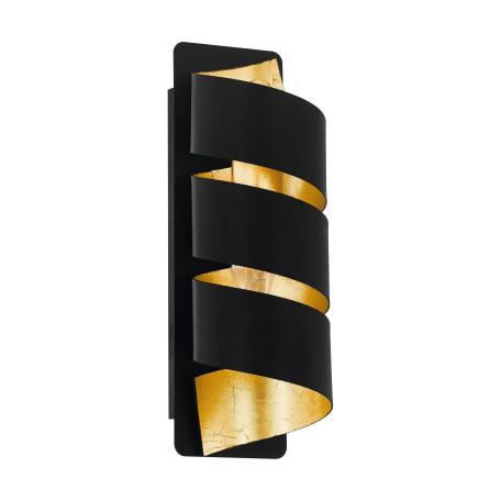Настенный светильник Eglo Elizondo 98755, 1xE14x40W, черный, металл
