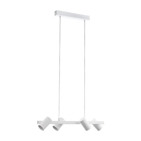 Подвесной светильник с регулировкой направления света Eglo Gatuela 98686, 4xE14x25W, белый, металл