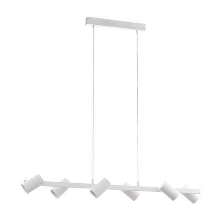 Подвесной светильник с регулировкой направления света Eglo Gatuela 98687, 6xE14x25W, белый, металл