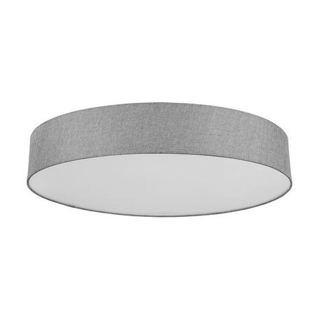 Потолочный светодиодный светильник с пультом ДУ Eglo Connect Romao-C 98669, LED 42W 2765K, серый, металл, текстиль