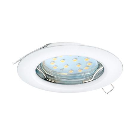 Встраиваемый светильник Eglo Peneto 98644, 1xGU10x3W, белый, металл