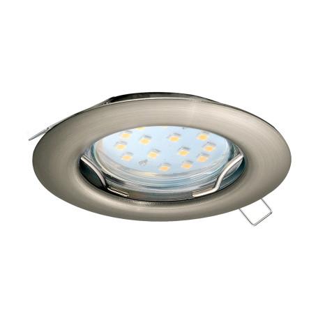 Встраиваемый светильник Eglo Peneto 98645, 1xGU10x3W, никель, металл