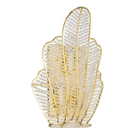 Бра Lightstar Osgona Riccio 705632R, 3xG9x40W, золото, прозрачный, металл, хрусталь