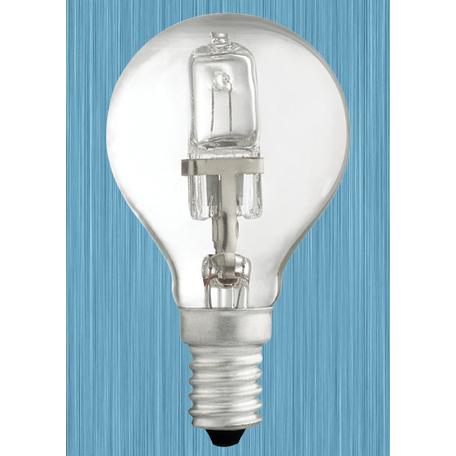 Галогенная лампа Novotech Halo 456025 шар E14 42W, 2700K (теплый) 220V, диммируемая, гарантия нет гарантии