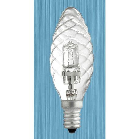 Галогенная лампа Novotech Halo 456029 витая свеча E14 42W, 2700K (теплый) 220V, диммируемая, гарантия нет гарантии
