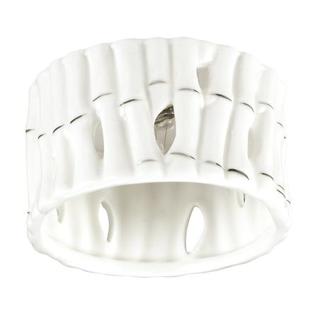 Встраиваемый светильник Novotech Farfor 370210, 1xG9x40W, белый, металл, керамика