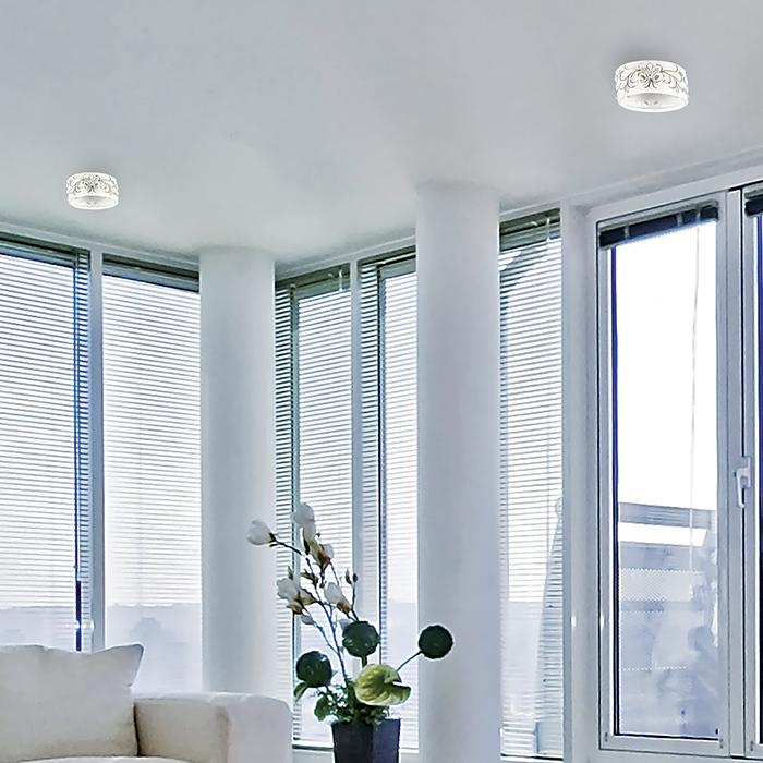 Встраиваемый светильник Novotech Farfor 370211, 1xG9x40W, белый, керамика - фото 2