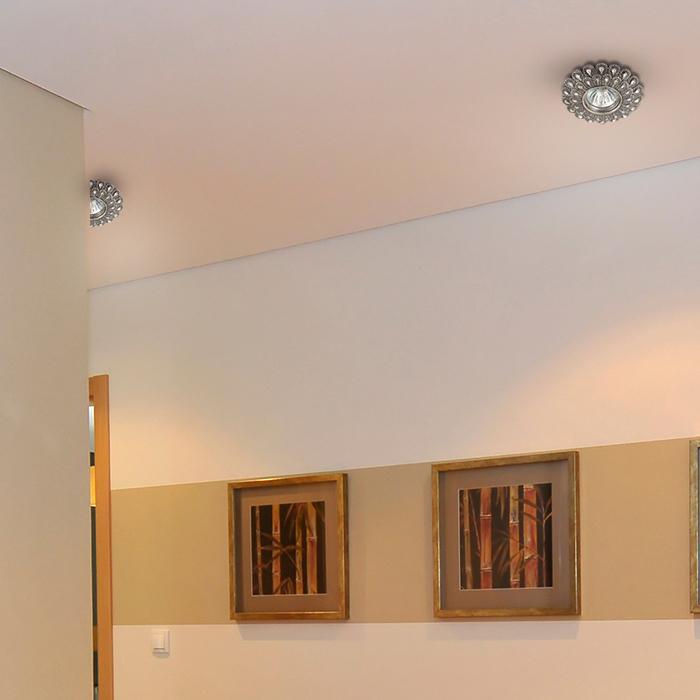 Встраиваемый светильник Novotech Pattern 370102, 1xGU5.3x50W, бронза, песчаник - фото 3