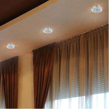 Встраиваемый светильник Novotech Spot Neviera 370169, 1xGU5.3x50W, хром, разноцветный, прозрачный, металл, хрусталь - миниатюра 2