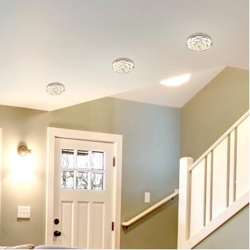 Встраиваемый светильник Novotech Spot Pattern 370213, 1xGU5.3x50W, белый, золото, песчаник - миниатюра 2