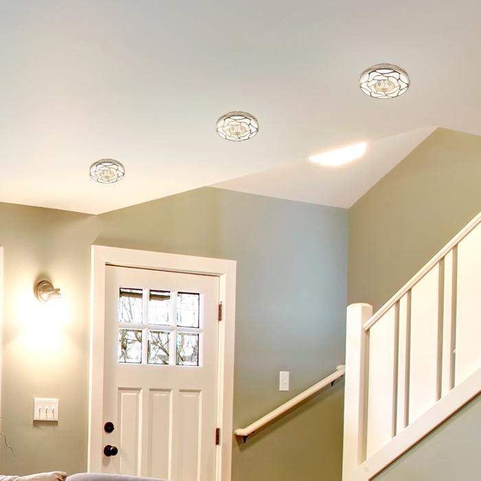 Встраиваемый светильник Novotech Spot Pattern 370213, 1xGU5.3x50W, белый, золото, песчаник - фото 2