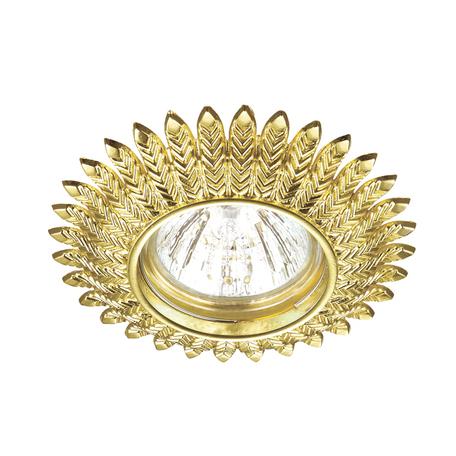 Встраиваемый светильник Novotech Spot Forza 370243, 1xGU5.3x50W, золото, металл