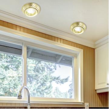 Встраиваемый светильник Novotech Spot Forza 370247, 1xGU5.3x50W, золото, металл - миниатюра 2