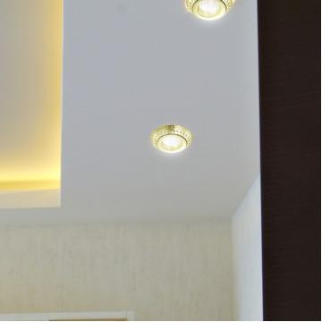 Встраиваемый светильник Novotech Spot Forza 370247, 1xGU5.3x50W, золото, металл - миниатюра 4