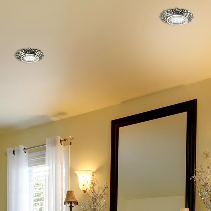 Встраиваемый светильник Novotech Spot Forza 370260, 1xGU5.3x50W, бронза, металл - фото 2