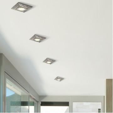 Встраиваемый светильник Novotech Forza 370262, 1xGU5.3x50W, бронза, металл - миниатюра 2
