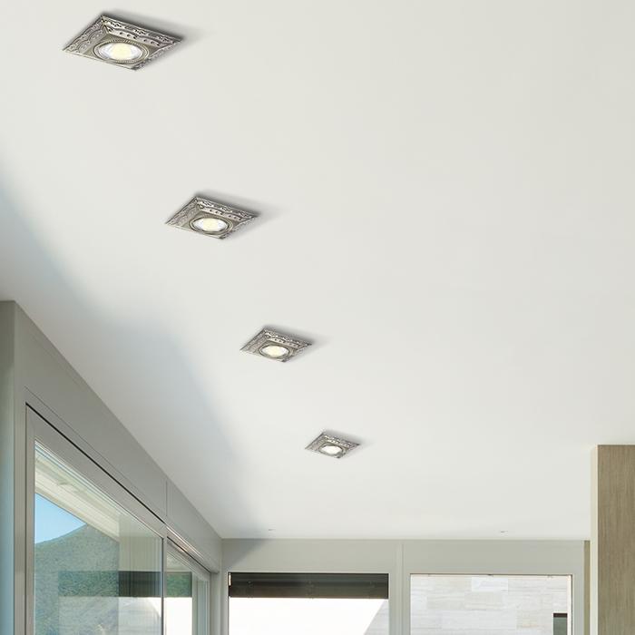 Встраиваемый светильник Novotech Forza 370262, 1xGU5.3x50W, бронза, металл - фото 2