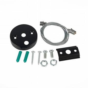 Набор для подвесного монтажа шинной системы ST Luce ST002.459.00, черный, металл
