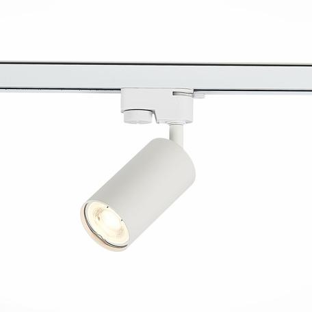 Светильник с регулировкой направления света для шинной системы ST Luce Solt ST300.506.01, 1xGU10x50W, белый, металл