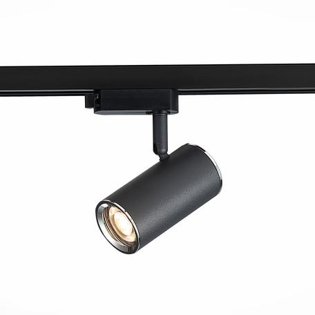 Светильник с регулировкой направления света для шинной системы ST Luce Cromi ST301.406.01, 1xGU10x50W, черный, металл