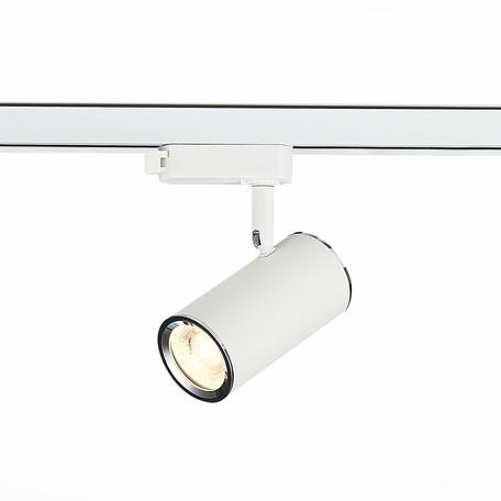 Светильник с регулировкой направления света для шинной системы ST Luce Cromi ST301.506.01, 1xGU10x50W, белый, металл