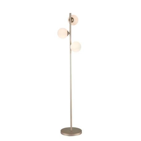 Торшер ST Luce Redjino SLE106205-03, 3xG9x3W, матовое золото, белый, металл, стекло