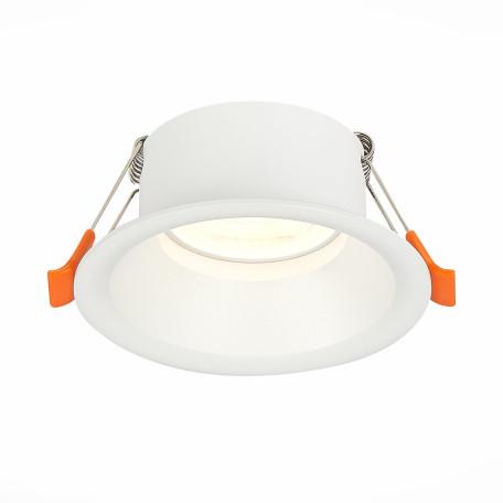 Встраиваемый светильник ST Luce Nobarra ST201.508.01, 1xGU10x50W, белый, металл
