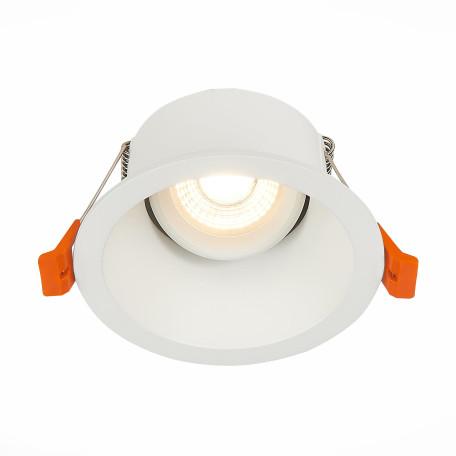 Встраиваемый светильник ST Luce Grosi ST207.508.01, 1xGU10x50W, белый, металл
