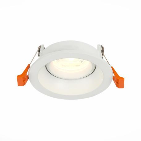Встраиваемый светильник ST Luce Misura ST208.508.01, 1xGU10x50W, белый, металл