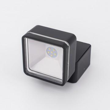 Настенный светодиодный светильник с регулировкой направления света Citilux CLU0008K, IP54, LED 6W 4000K 390lm, черный, металл, металл со стеклом - миниатюра 4