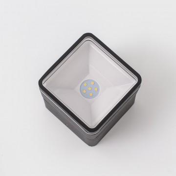 Настенный светодиодный светильник с регулировкой направления света Citilux CLU0008K, IP54, LED 6W 4000K 390lm, черный, металл, металл со стеклом - миниатюра 5
