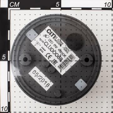 Настенный светодиодный светильник с регулировкой направления света Citilux CLU0008R, IP54, 4000K (дневной), черный, металл, стекло - миниатюра 5