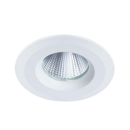 Встраиваемый светодиодный светильник Arte Lamp Instyle Nembus A7987PL-1WH, IP44, LED 7W 4000K 560lm CRI≥70, белый, металл