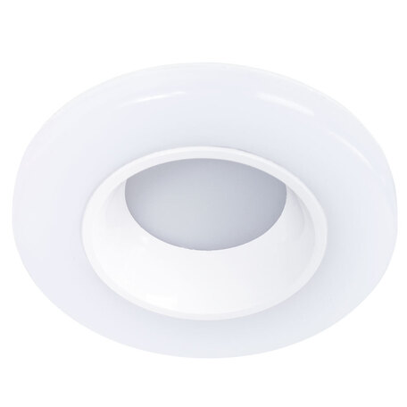 Встраиваемый светодиодный светильник Arte Lamp Instyle Alioth A7991PL-1WH, LED 6W 4000K 300lm CRI≥70, белый, металл, пластик