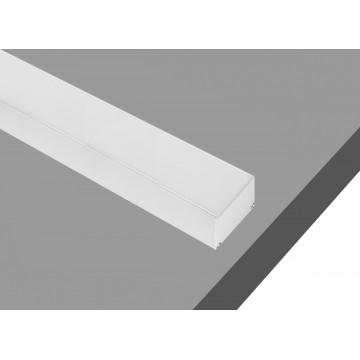 Профиль для светодиодной ленты без рассеивателя Donolux DL18506RAL9003, белый