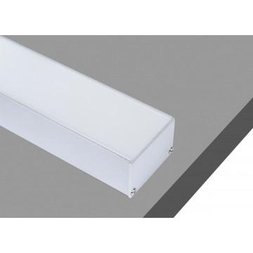 Накладной профиль для светодиодной ленты без рассеивателя Donolux DL18511Alu