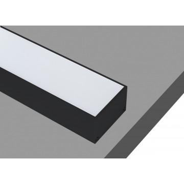 Профиль для светодиодной ленты без рассеивателя Donolux DL18511Black