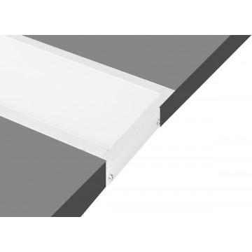Встраиваемый профиль для светодиодной ленты без рассеивателя Donolux DL18512RAL9003, белый