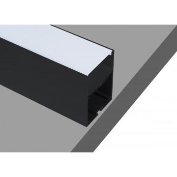 Профиль для светодиодной ленты без рассеивателя Donolux DL18516Black